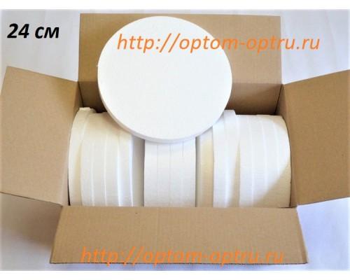 Диски из пенопласта 24х2 см (17 шт.)