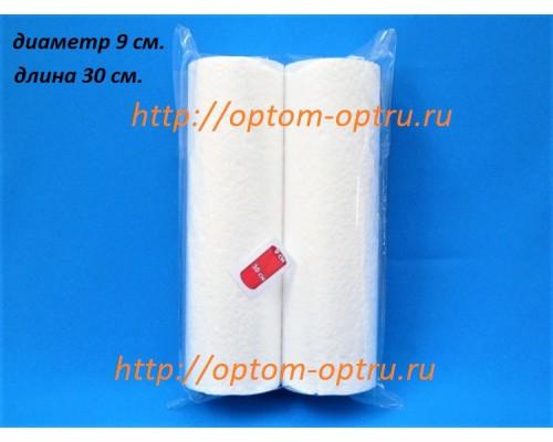 Цилиндры из пенопласта 9 см (длина 30 см). ( 1 упк )