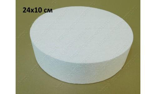 Цилиндр из пенопласта 24х10 см. ( 1 упк )