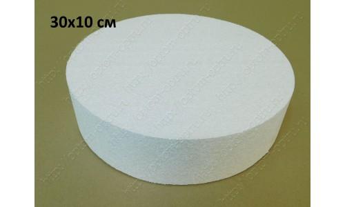 Цилиндр из пенопласта 30х10 см. ( 1 упк )
