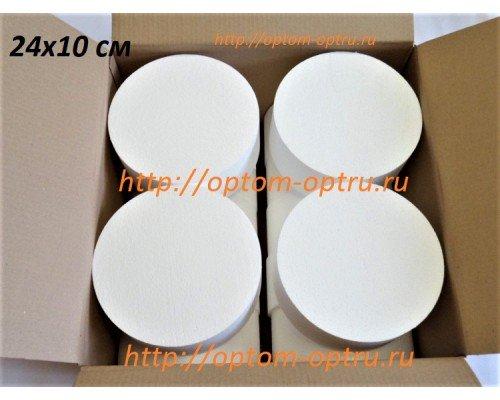 Цилиндры из пенопласта 24х10 см. ( 14 шт.)