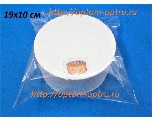 Цилиндр из пенопласта 19х10 см. ( 1 упк )