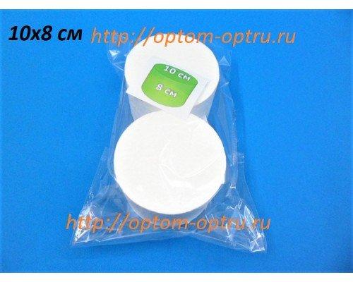 Цилиндр из пенопласта 10х8 см.( 1 упк )