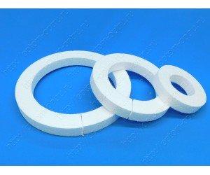 """Кольца из пенопласта """" ( 30 см, 22 см, 14 см.) Кол-во 12 шт"""