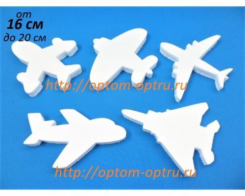 Самолеты из пенопласта 16 - 20 см. (5 шт.)