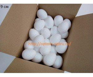 Яйцо из пенопласта 9х7 см. Кол-во 70 шт.