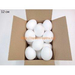 Яйцо из пенопласта 12х9 см. Кол-во 30 шт.